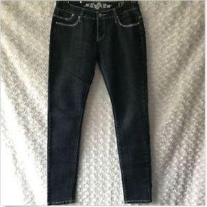 Rampage Skinny Jeans in Dark Wash